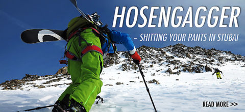 Hosengagger - shitting your pants in Stubai