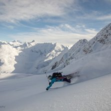 Telemarking at its best.