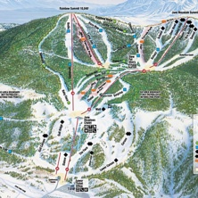 Skimap June Mountain