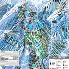 Skimap Aspen Highlands