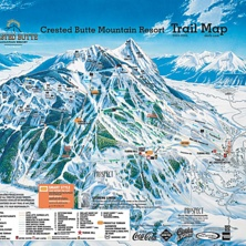 Skimap Crested Butte