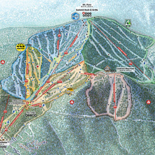 Skimap Northstar California