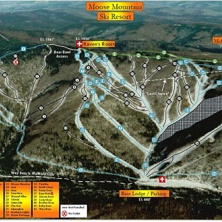 Skimap Moose Mountain