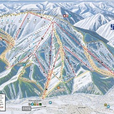Skimap Sun Valley/Bald Mountain