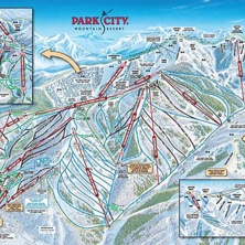 Skimap Park City