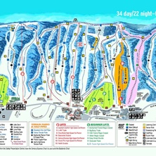 Skimap Blue Mountain - Ontario