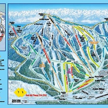 Skimap Mount Washington