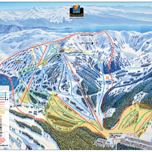 Skimap Eaglecrest