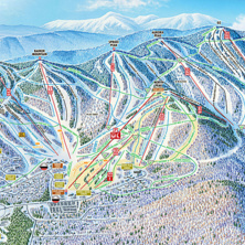 Skimap Sunday River