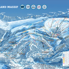 Skimap Le Grand Massif