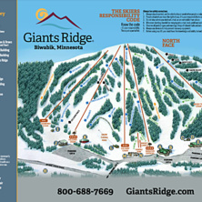 Trail map Giants Ridge Resort