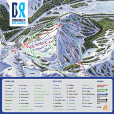 Trail map Donner Ski Ranch