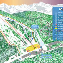Trail map Hilltop Ski Area