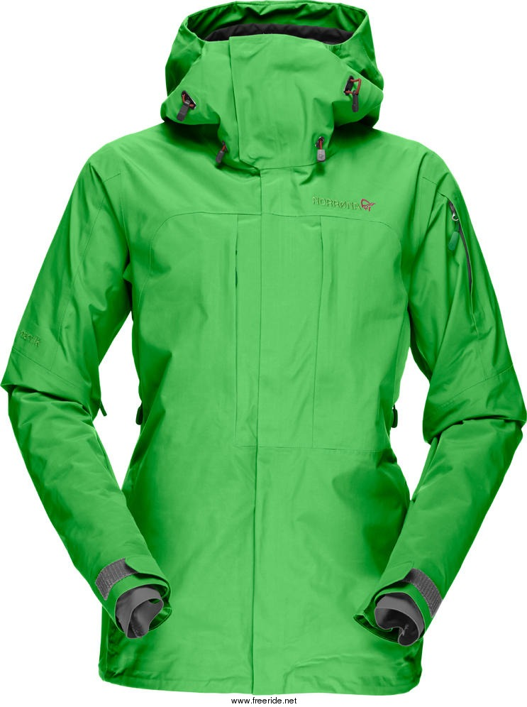 Norrøna narvik Gore Tex 2L Jacket (W) review Freeride