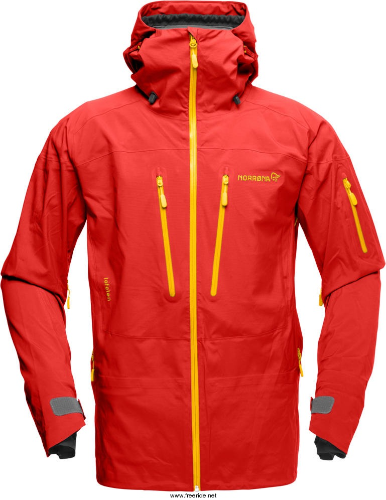Norr 248 Na Lofoten Gore Tex Pro Jacket M 2014 Freeride