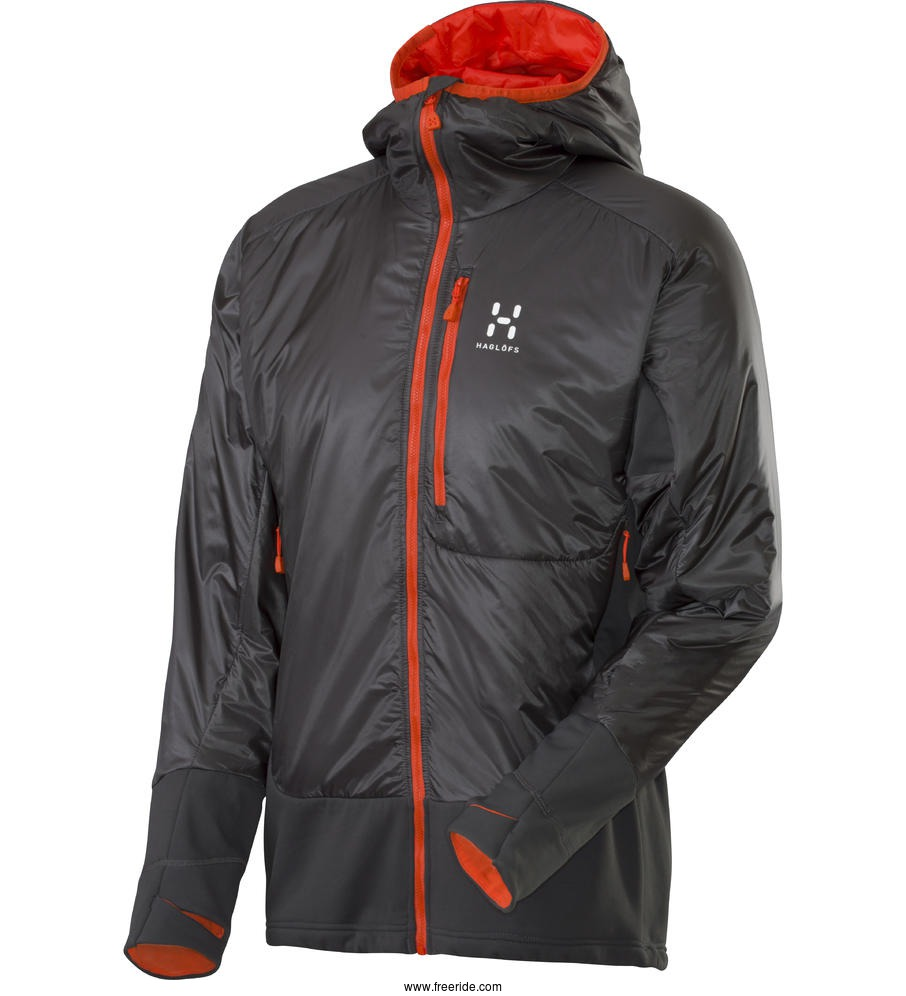 Haglöfs Rando Barrier Jacket Men review Freeride