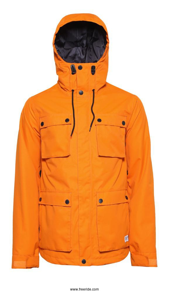 Colour Wear CLWR Cargo Jacket review Freeride