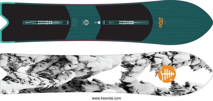 caravana empujar Transporte  Burton SKIP JACK SURF review - Freeride