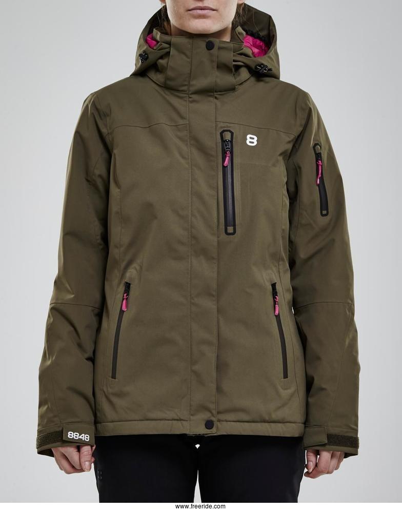 8848 Altitude Folven Jacket review Freeride
