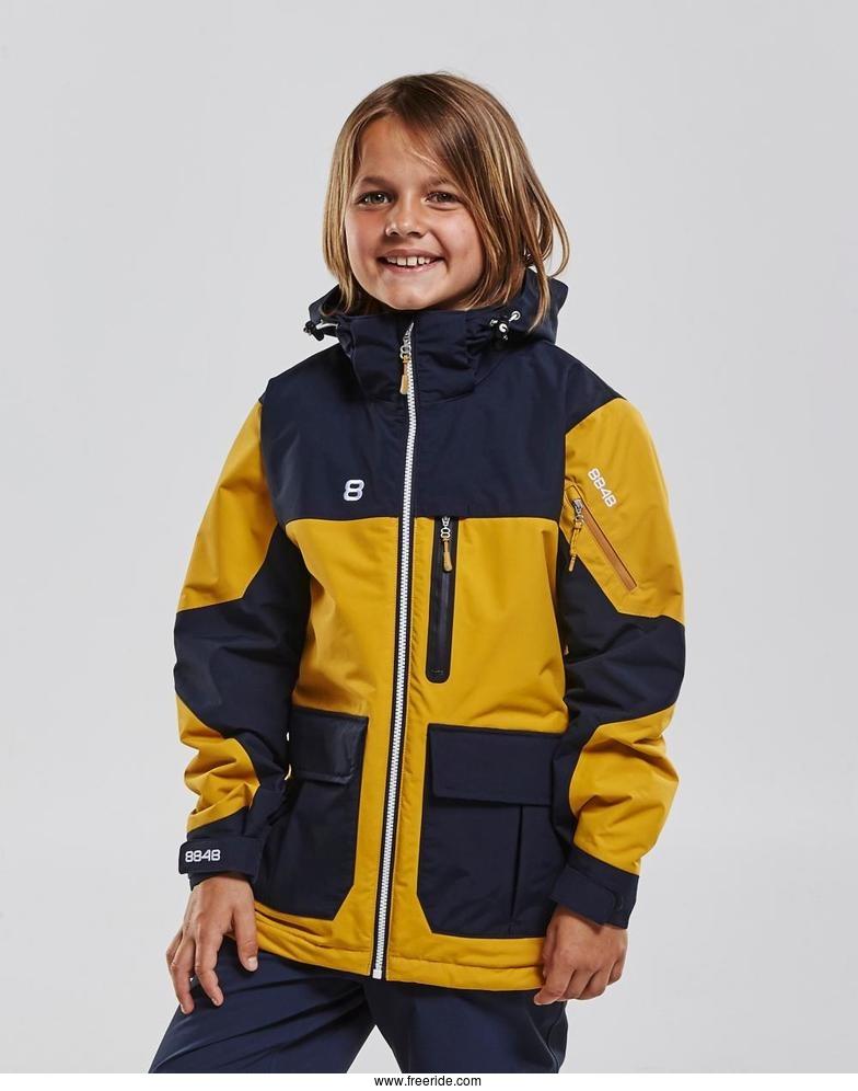 23b7af2b Junior product. Water resistance: 10000 mm. Available colors: Blå, Navy,  Mustard, Guacamole Price: 150 $ Manufacturers description. Jayden jr Jacket  ...