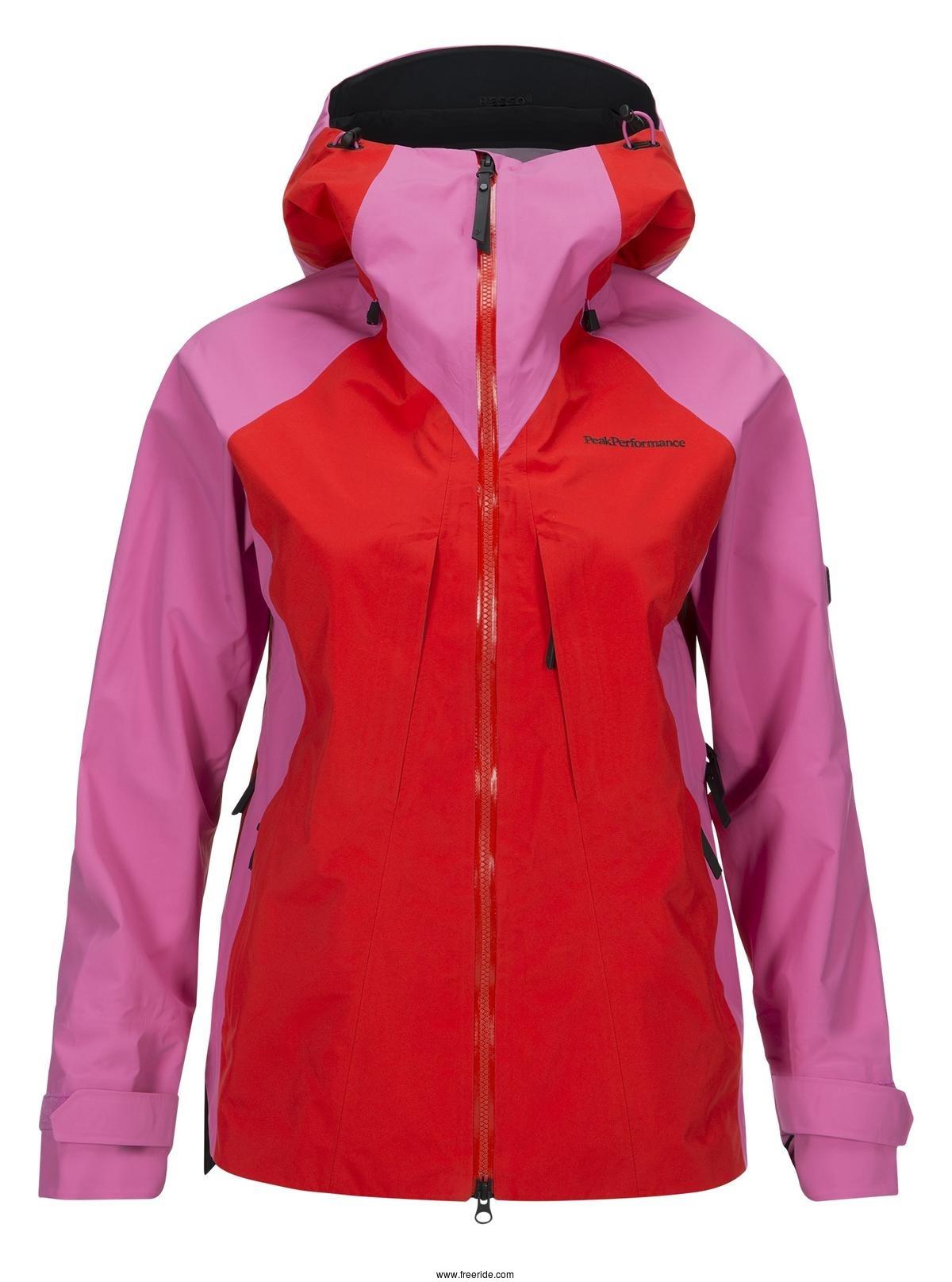 new style c7b6e 1db60 Peak Performance Womens Teton Ski Jacket review - Freeride