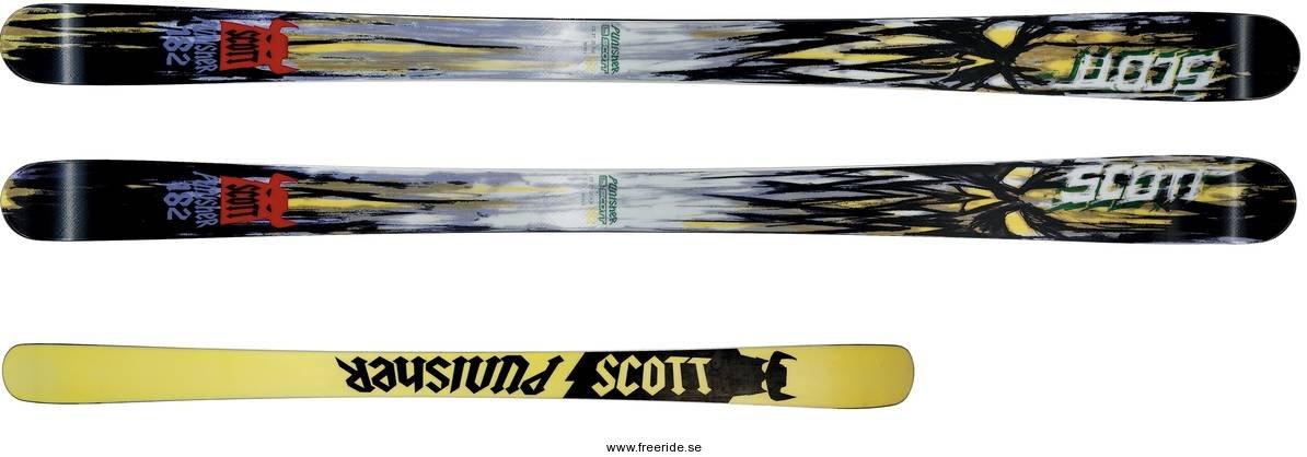 Scott Punisher Ski 2012 + Bindung   Freeride Mountain