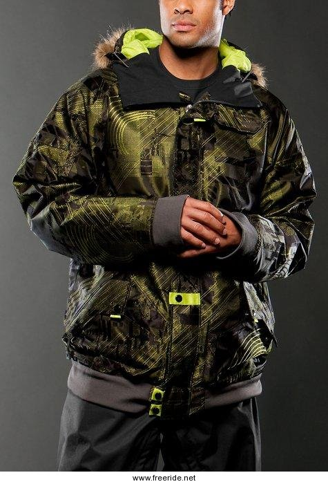 ed3aab886cd Oakley Goods Black Camo Jacket « Heritage Malta