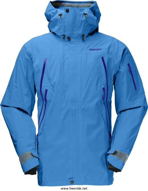 Norrøna narvik Gore Tex Perf. Shell 2L Jacket review Freeride