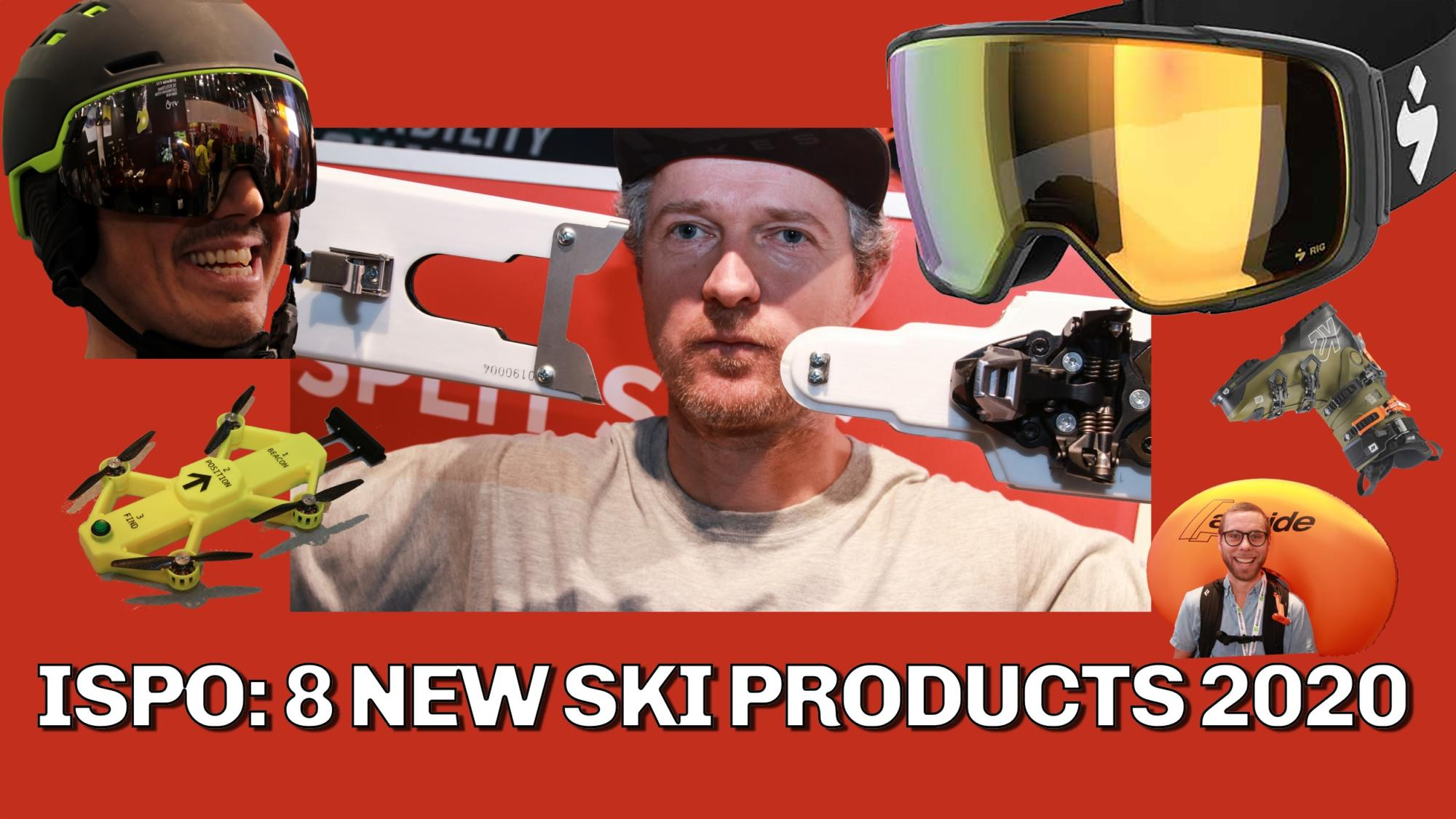 Best New Products 2020 Best Ski Products 2020   ISPO preview   Freeride