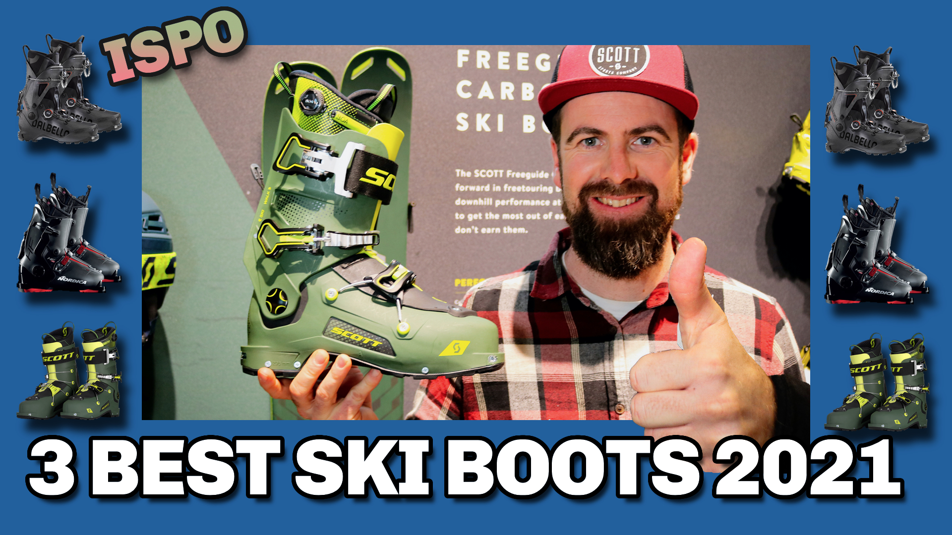 Top 3 new ski boots winter 2021 ISPO preview Freeride